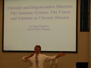 Dr. Nigel Plummer