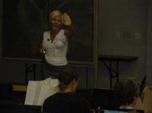 Speaker Donese Worden, NMD