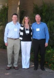 FMM organizers Aaron Merril, Steve Heckroth and Erin Spong